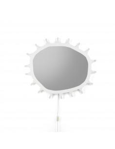 Miroir Lumineux Luminaire Regular 18 sources LED par Marcantonio X Seletti