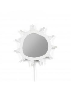 Miroir Lumineux Luminaire Small 10 sources LED par Marcantonio X Seletti