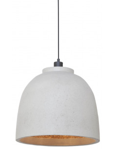 Suspension BOROBUDUR Ø40cm en Naturescast au design naturel par It's About Romi