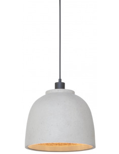 Suspension BOROBUDUR Ø30cm en Naturescast au design naturel par It's About Romi