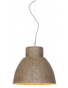 Suspension CEBU en Naturescast au design naturel par Good & Mojo