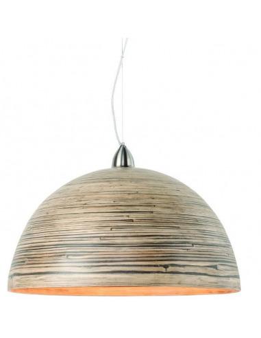 Suspension Halong en bamboo naturel au design naturel par It's About Romi