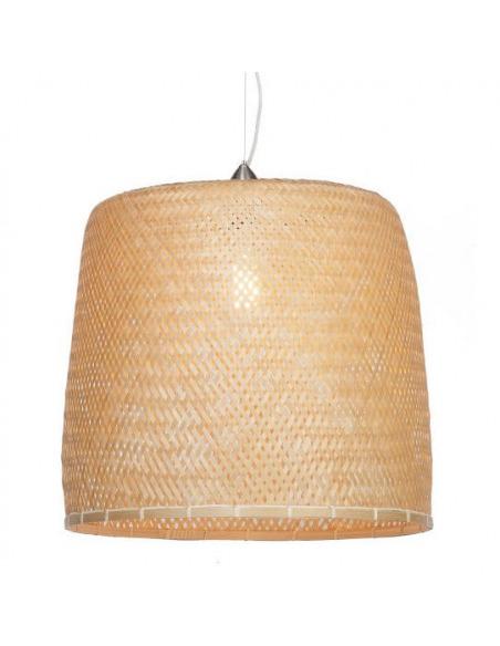 Suspension Serengeti Ø50 cm en bamboo au design naturel par Good & Mojo