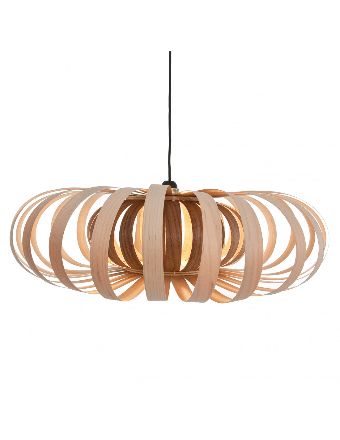 Suspension Phi en bois d'erable design Otoko # Suspension Bois Design