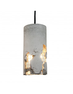 Suspension en beton design Delta