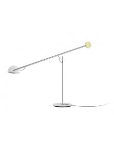 Lampe à poser Copérnica LED avec bras articulé en acier par Ramírez i Carrillo - Marset