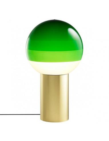 Lampe à poser Dipping Light XL LED en laiton par Jordi Canudas - Marset