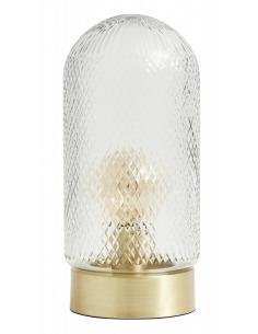 Lampe à poser Dome vintage en verre au design vintage par Nordal