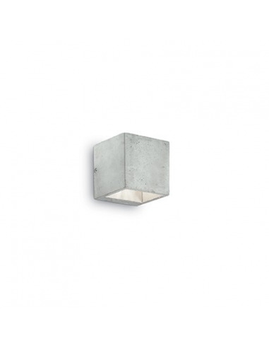 Applique murale en béton Cubox simple au design industriel