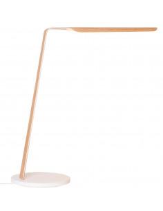 Lampe à poser tactile en bois Led Swan au design scandinave et minimaliste par Tunto