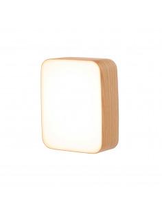 Applique murale en bois Led Cube au design scandinave et minimaliste par Tunto