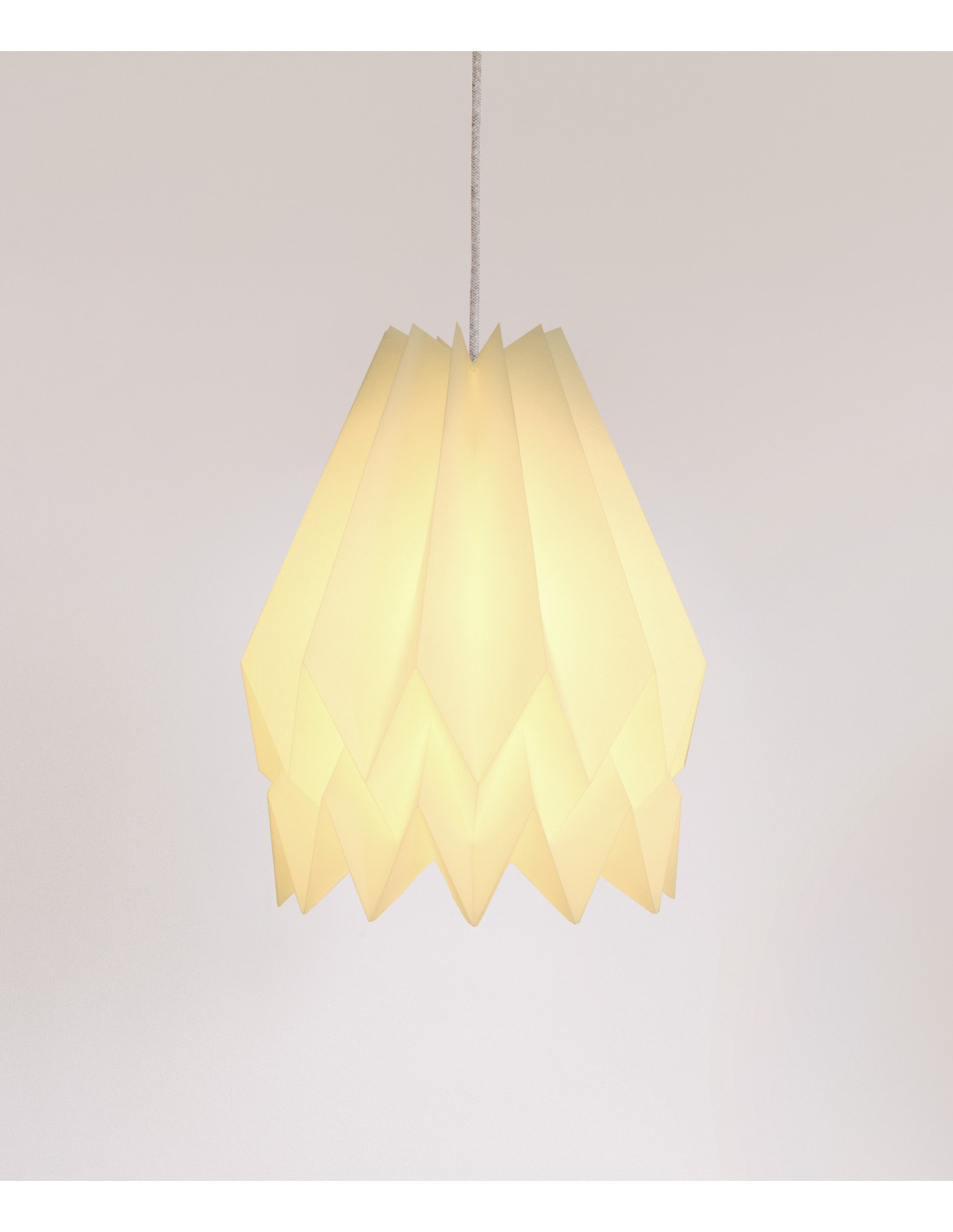 Suspension papier origami les derni res for Suspension luminaire papier