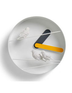 Horloge design oiseaux...