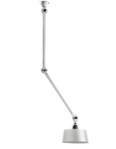 Plafonnier Bolt Centre avec 2 bras articulés au design industriel par Anton de Groof X Tonone