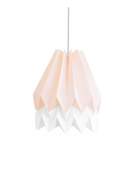 Suspension design double origami en Papier Washi