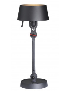 Lampe à poser Bolt Desk small avec un bras articulé au design industriel par Anton de Groof X Tonone
