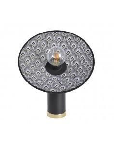 Lampe à poser Gatsby Paon Noir en métal par Market Set