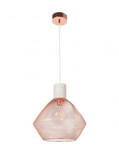 Suspension design Venezia en céramique et métal cuivré par Market Set