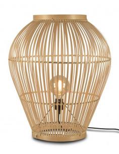 Lampe Tuvalu Large H 70 cm en bamboo au design naturel par Good & Mojo
