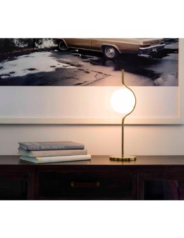 À Nahtrang Par Laiton Le Aluminium Vita Finition Un En Chic Lampe Pour Design Avec Poser c34LjqR5A