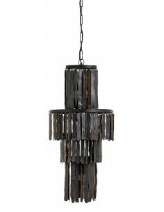 Suspension Metalo Ø45,5 cm en métal au design vintage par Nordal