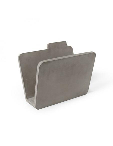 Porte-revues documents au sol design en béton Lyon Béton