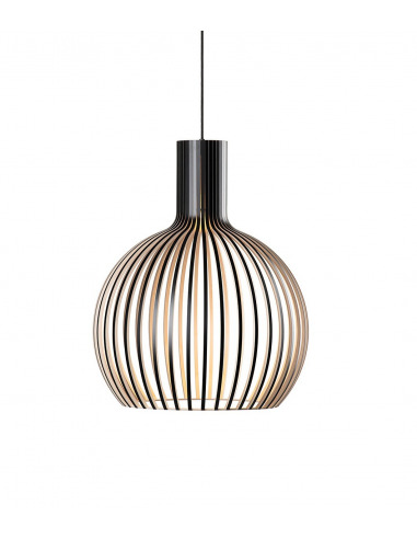 Suspension Octo 4241 au design scandinave en bois naturel par Secto Design