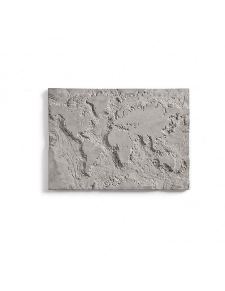 Tableau en béton The gray planet par Bertrand Jayr x Lyon Beton