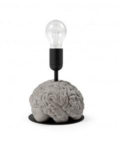 Lampe de table eureka en béton par Bertrand Jayr x Lyon Béton