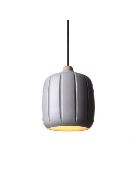 Suspension Cosse small en céramique au design contemporain par Enrico Zanolla