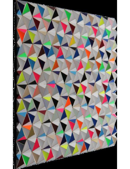 Tableau tridimensionnel AIS-1 Topographie avec 864 triangles par Sebastian Welzel