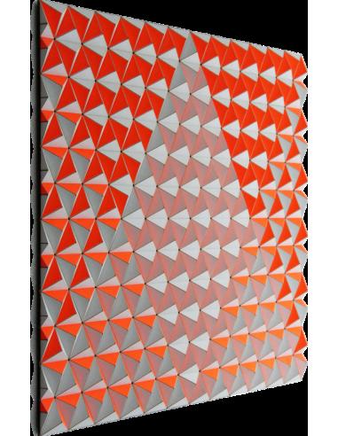 Tableau tridimensionnel CIS-1 Topographie avec 864 triangles par Sebastian Welzel