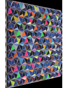 Tableau tridimensionnel DIS-1 Topographie avec 864 triangles par Sebastian Welzel