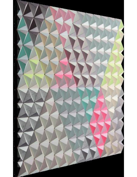 Tableau tridimensionnel FIS-1 Topographie avec 864 triangles par Sebastian Welzel