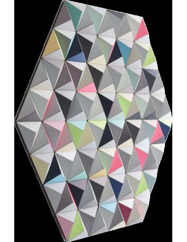 Tableau tridimensionnel FIS-2 Topographie avec 288 triangles par Sebastian Welzel