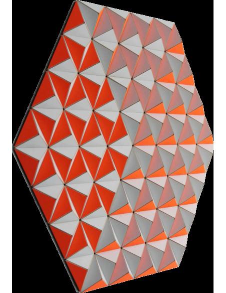 Tableau tridimensionnel CIS-2 Topographie avec 288 triangles par Sebastian Welzel