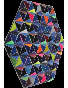 Tableau tridimensionnel DIS-2 Topographie avec 288 triangles par Sebastian Welzel