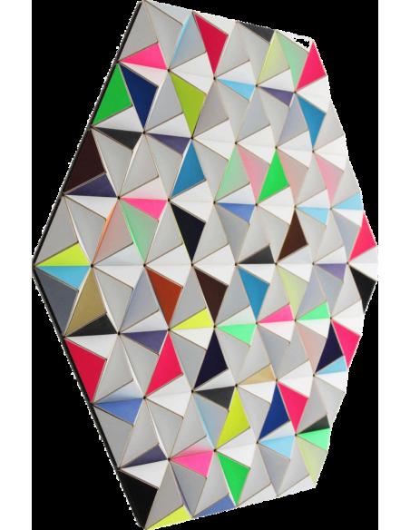 Tableau tridimensionnel AIS-2 Topographie avec 288 triangles par Sebastian Welzel