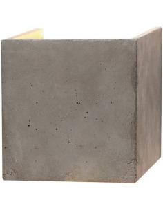 Applique Design B3 Cubic au design industriel en béton par Gant Light