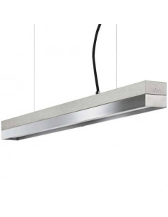 Suspension Design C2 Zinc et béton 92 cm par Gant light