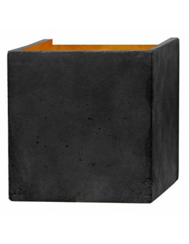 Applique Design B3 Gris Cubic au design industriel en béton par Gant Light