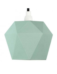 Suspension en porcelaine K1 menthe Triangular par Gant lights