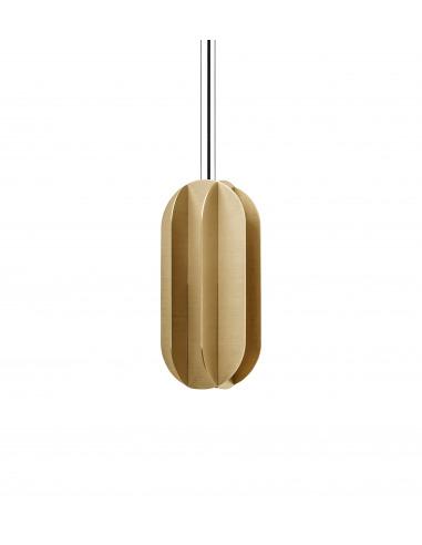 Suspension EL large CS1 en laiton au design contemporain par Kateryna Sokolova x Noom