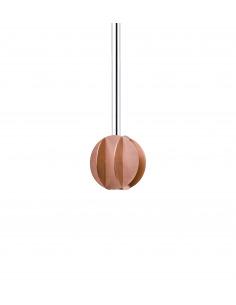 Suspension EL small CS2 en laiton au design contemporain par Kateryna Sokolova x Noom