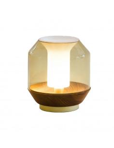 Lampe à poser design LATERALIS en verre soufflé par Innermost