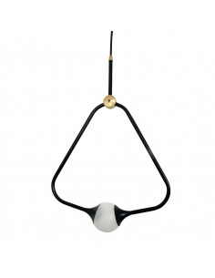 Suspension Medal en laiton au design chic et élégant