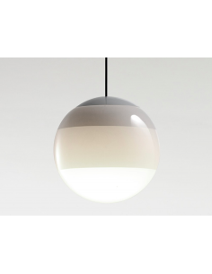 Suspension Dipping Light XL Ø30cm en verre soufflé par Jordi Canudas - Marset