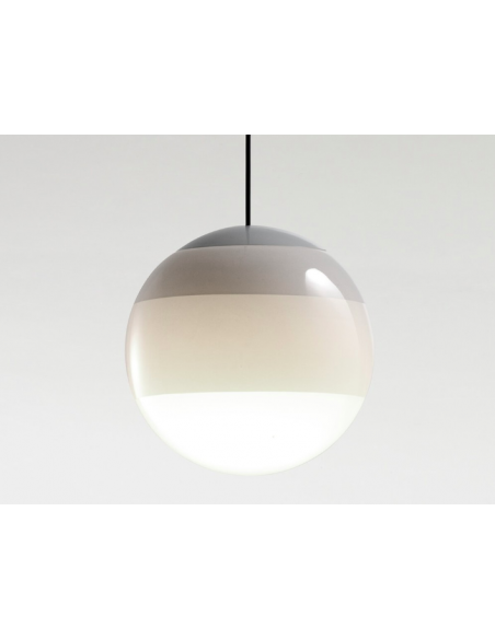Suspension Dipping Light XL Ø30cm en verre soufflé par Jordi Canudas - Marset