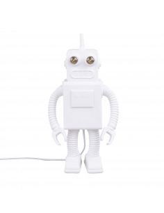 Lampe à poser Robot en porcelaine par Marcantonio x Seletti