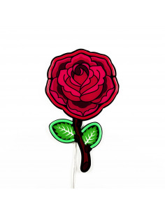 Applique Rose en forme de...